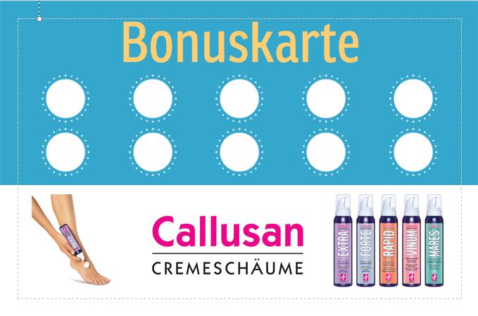 Bonuskarte Callusan vorne
